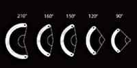 Kerarings - Variable Arc Lengths and Thicknesses